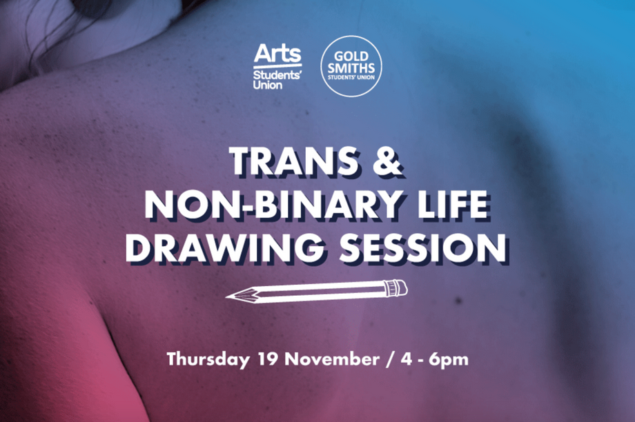 Trans & Non-Binary Life Drawing Session